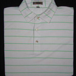 PETER MILLAR ~ Polyester Polo Golf Shirt ~ Men's